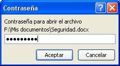 Contraseña para abrir el archivo