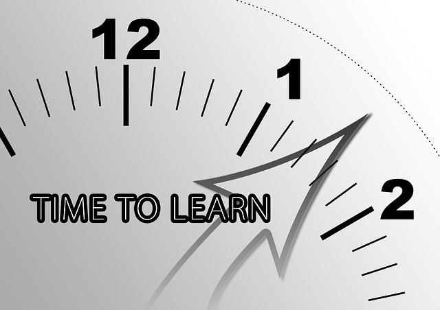 Es hora de aprender