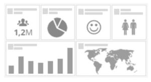 Tablero personalizado de analítica con Hootsuite