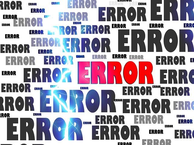Mensajes de error en Excel