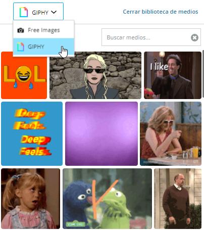 Medios gratuitos disponibles en Hootsuite