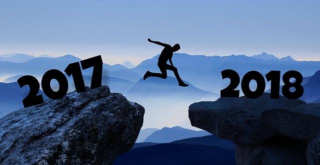 Toca decir adiós a 2017 y saludar a 2018