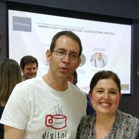 Con Manuel Miranda