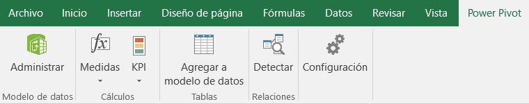Agregar una tabla vinculada de Excel a PowerPivot