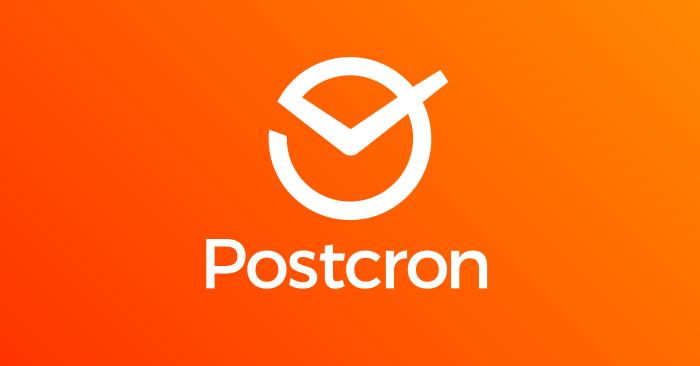 Postcron, una herramienta para programar en redes sociales