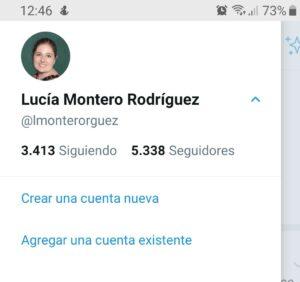 Trabajar con varias cuentas en Twitter desde la app